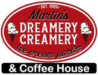 Martins Dreamery Creamery Logo